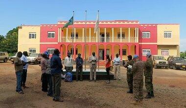 unmiss south sudan tambura covid19 face masks prevention
