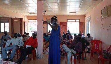 unmiss south sudan kuajok warrap state tonj north county peace agreement intercommunal violence disarmament