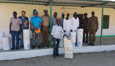 UN donates essential non-food items to Malakal prisoners