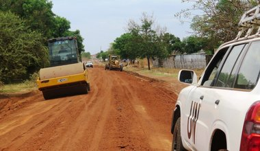 UNMISS South Sudan Torit road rehabilitation durable peace robust nimble peacekeeping