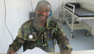 UN peacekeepers provide urgently needed medical services to population in Leer South Sudan
