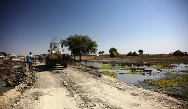 unmiss south sudan roads bridge upper nile region 2018 peacekeepers repair rehabilitation humanitarian access trade