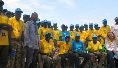 """UNMISS """"children not soldiers"""" campaign encourages South Sudan army to protect children in Pibor"""
