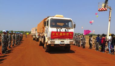 UNMISS South Sudan Wau Tonj Kuajok road rehabilitation robust nimble proactive durable peace