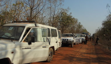 UNMISS begins weekly patrols along Yei-Kaya road as more refugees return