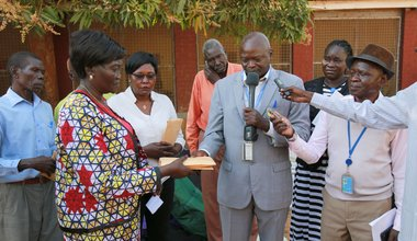 UNMISS National Staff Association supports local orphanage and children's hospital