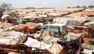 UNMISS protection of civilians protection sites displaced civilians peacekeepers South Sudan peacekeeping peacekeepers