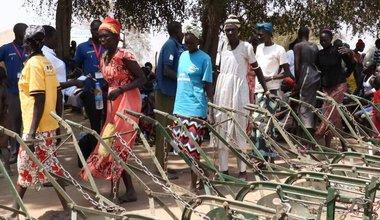 unmiss south sudan rumbek ox ploughs food security intercommunal fighting women