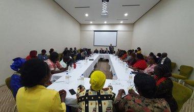 un unmiss south sudan usg lacroix igad au women representation meeting