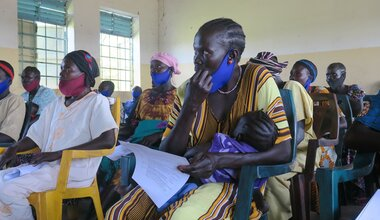 unmiss south sudan kudo eastern equatoria state torit rural women peace committee conflict resolution mitigation prevention