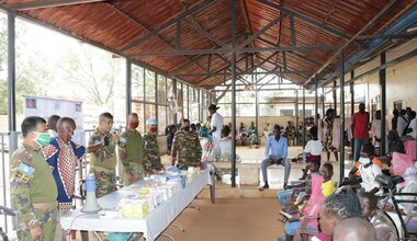 UNMISS protection of civilians peacekeepers Bangladesh Wau South Sudan peacekeeping peacekeepers