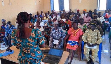 unmiss south sudan tonj 1325 gender women's rights armed conflict workshop exciting
