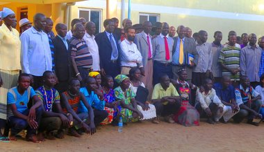 Peace and Reconciliation begins with a single handshake in Ngauro
