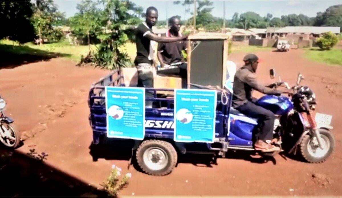 UNMISS COVID-19 I Can South Sudan awareness-raising coronavirus peacekeepers peacekeeping