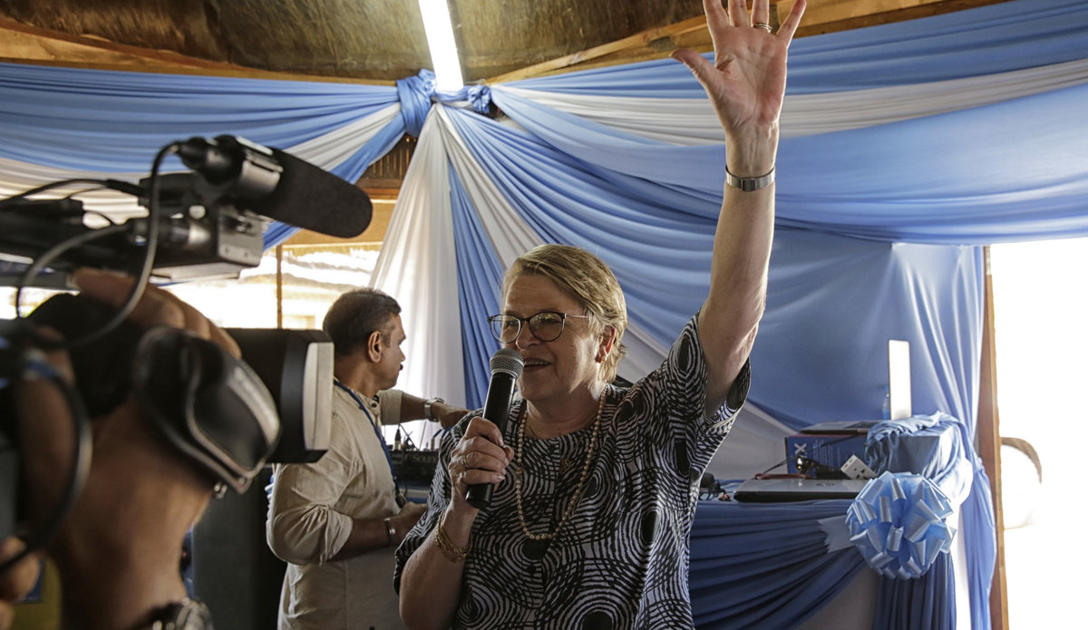 """SRSG bids farewell urging unity and optimism: """"Do not give up on South Sudan"""""""