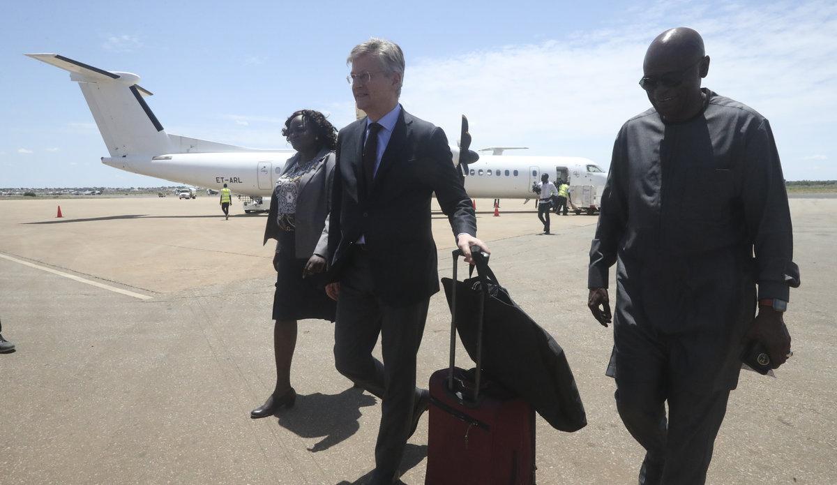 usg lacroix au igad special envoy unmiss south sudan president kiir promote implementation revitalized peace agreement