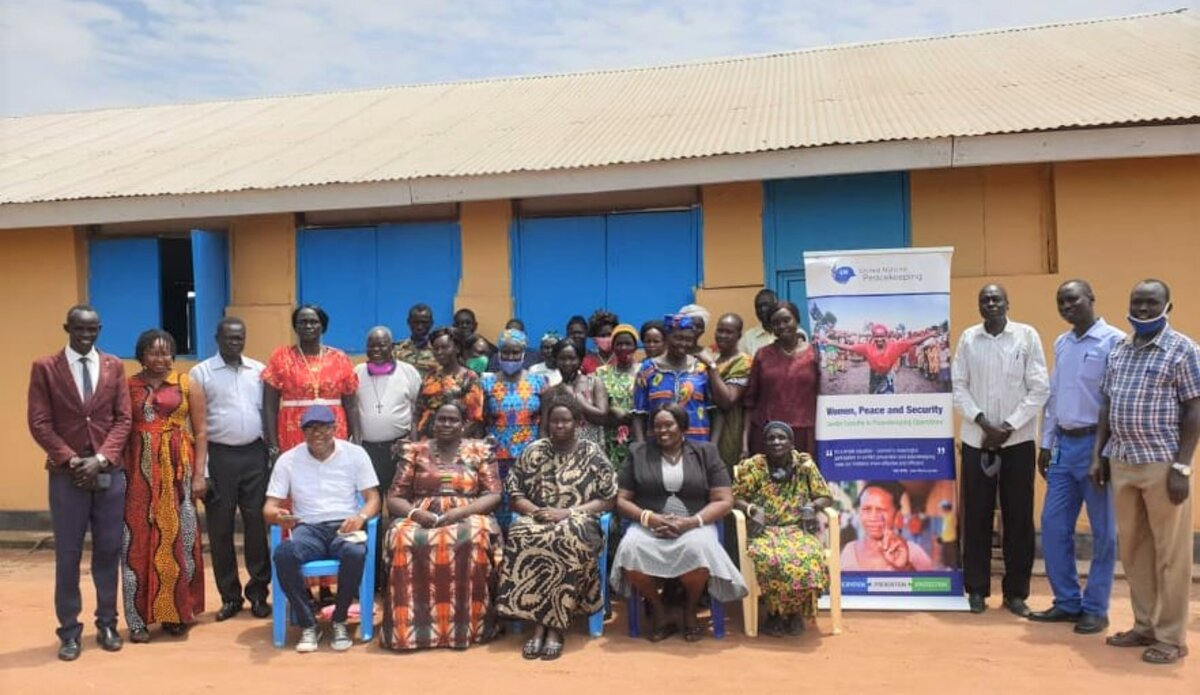 UNMISS protection of civilians gender equality peacekeepers South Sudan peacekeeping women peace security Rumbek