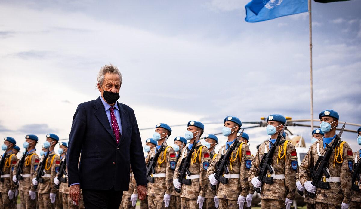 UNMISS protection of civilians Nicholas Haysom peacekeepers South Sudan peacekeeping