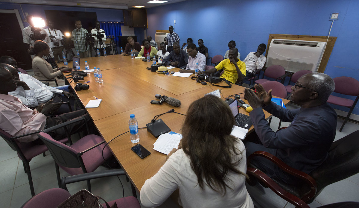 Media Briefing by Mr. Adama Dieng, United Nations Special Adviser on the Prevention of Genocide on his visit to South Sudan