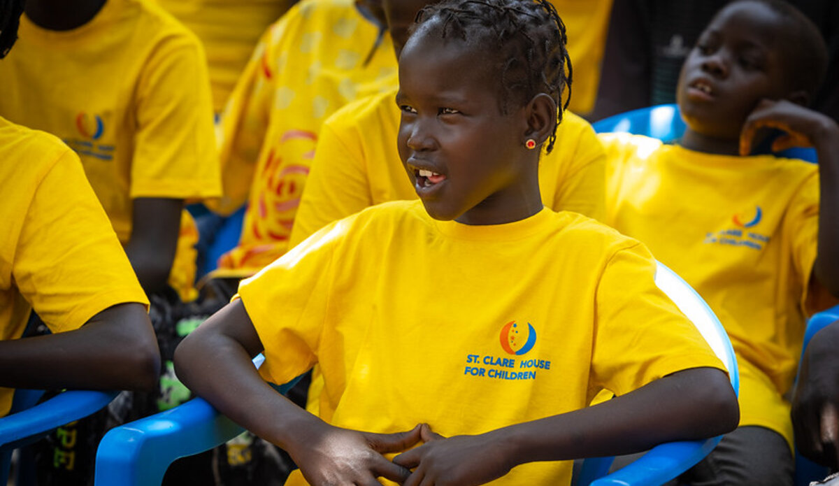 UNMISS protection of civilians children peacekeepers South Sudan peace music orphans education