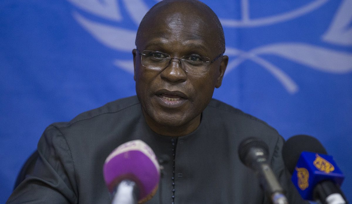 Near- verbatim transcript of UMISS Deputy SRSG for Political Affairs Moustapha Soumare and Minister of Parliamentary Affairs Mr. Peter Bandi on SSBC