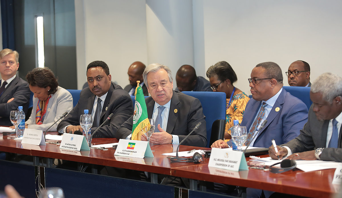 Remarks by the Secretary-General at the Consultative Meeting on South Sudan, with UN, IGAD and the African Union   Addis Ababa, 27 January 2018