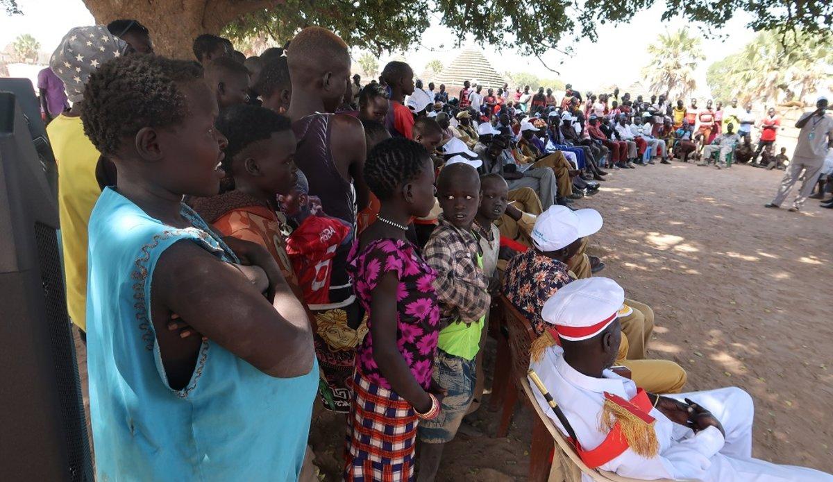 unmiss south sudan revitalised peace agreement akon county kuajok