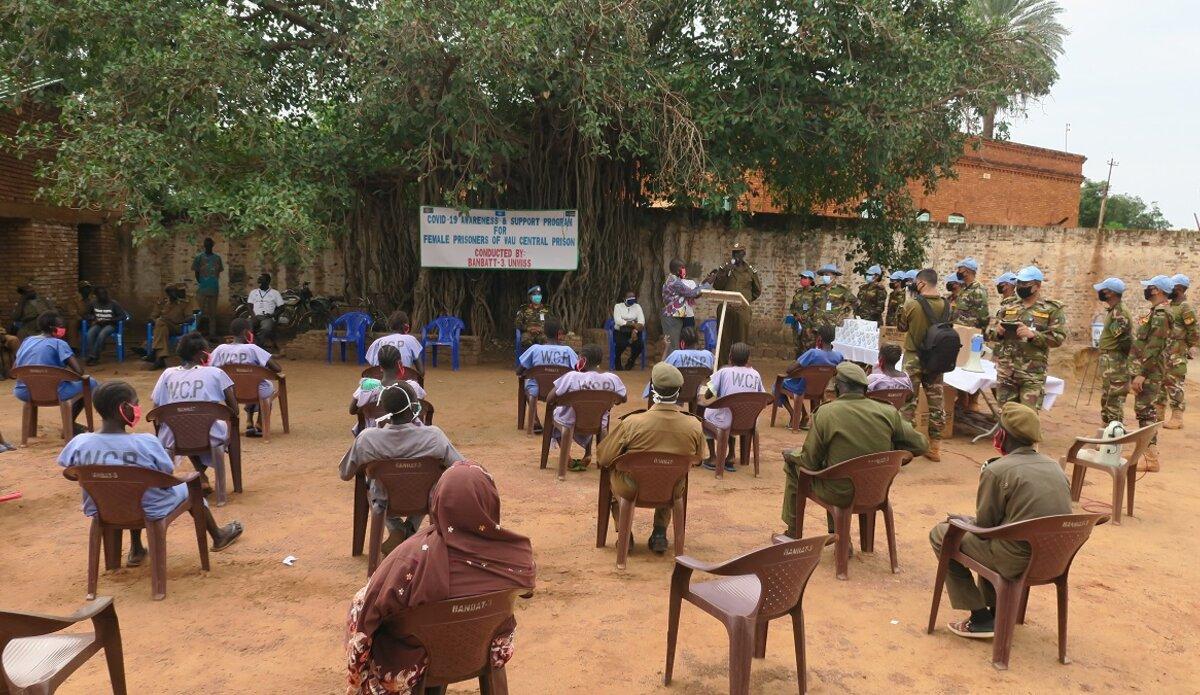 UNMISS South Sudan Peacekeepers Wau Prison COVID-19 Coronavirus Peacekeeping