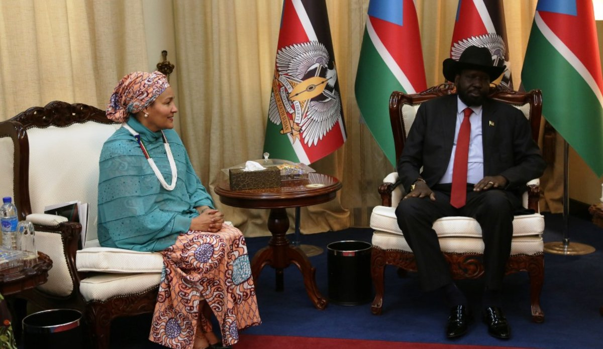 un unmiss south sudan sexual violence council of ministers president salva kiir au mission solidarity
