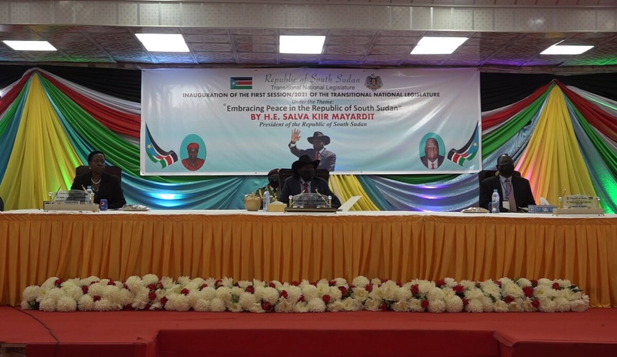 unmiss south sudan reconstituted transitional national legislative assembly opening session