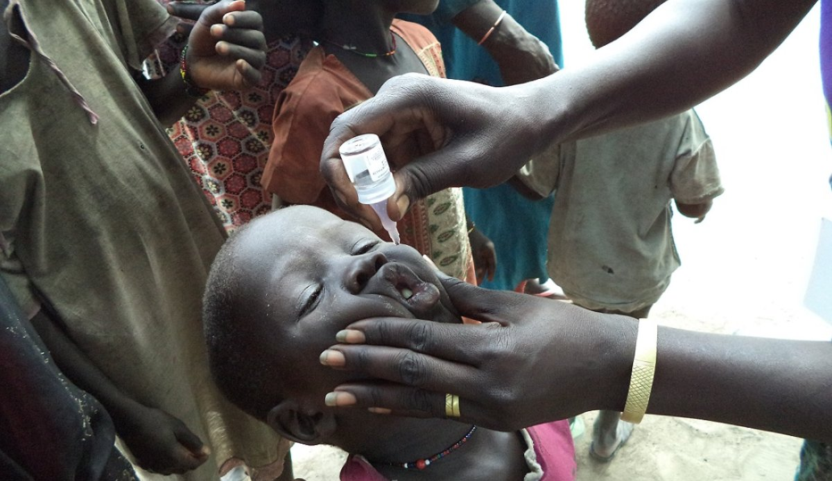 UNICEF and WHO assisting local authorities with polio vaccinations in Bentiu