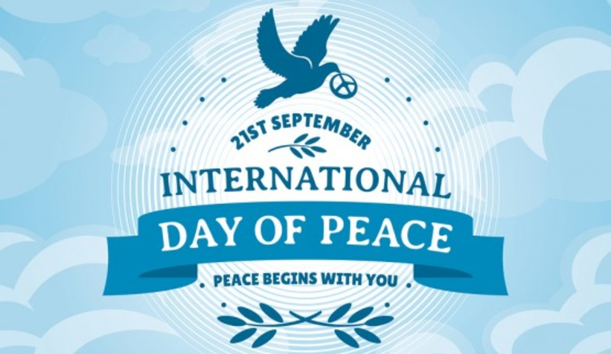 International Day of Peace - 21 September  IMAGES, GIF, ANIMATED GIF, WALLPAPER, STICKER FOR WHATSAPP & FACEBOOK