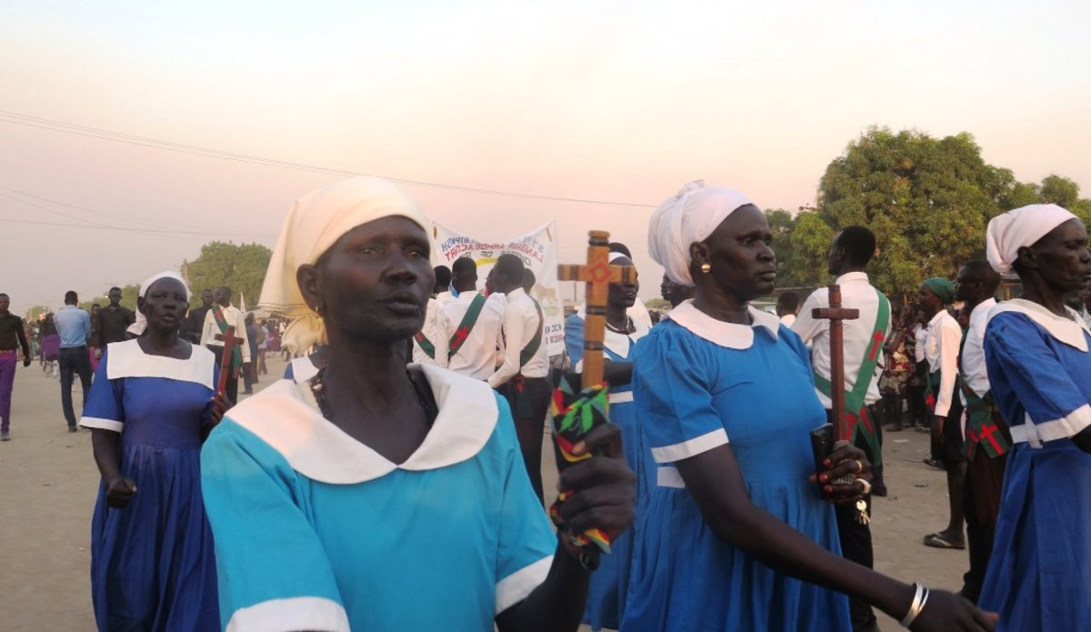 christmas december 2018 new year 2019 bor south sudan unmiss peace reconciliation