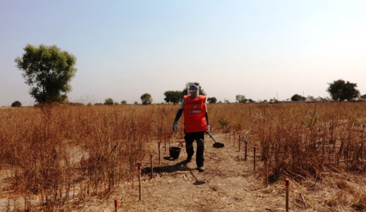 unmiss unmas demining bor south sudan december 2018 protection of civilians