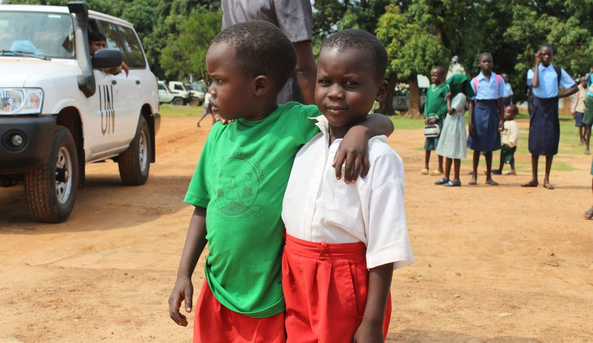 Children Urge Political Leaders to End Conflict in Yei