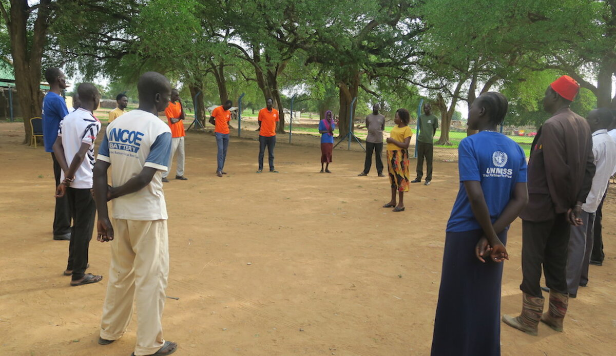 unmiss south sudan turalei twic county sexual gender-based violence early forced marriages low school enrollment for girls