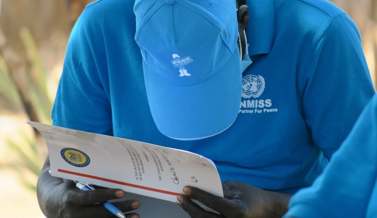 unmiss south sudan jonglei child protection child soldiers action plan six grave violations