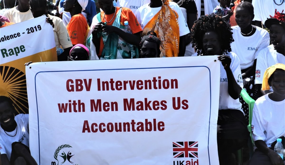 unmiss south sudan jonglei bor 16 days of activism gender-based violence the role of men