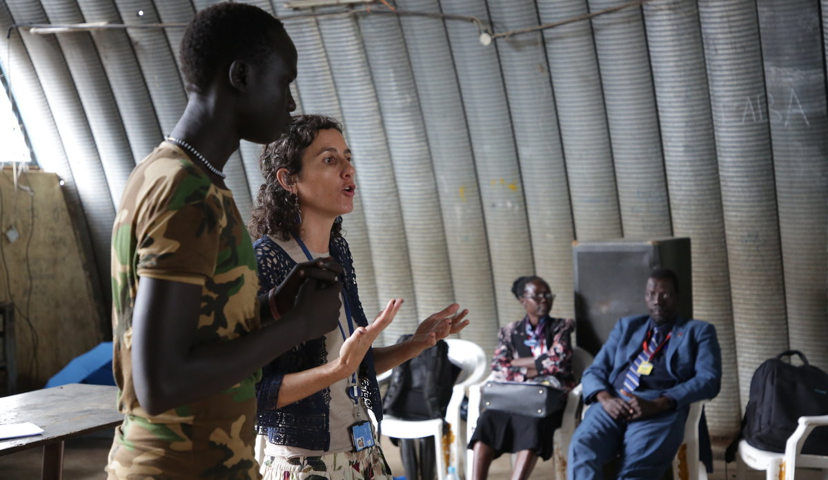 unmiss south sudan conflict-related sexual violence stigma workshop shifting blame and shame from survivors to perpetrators