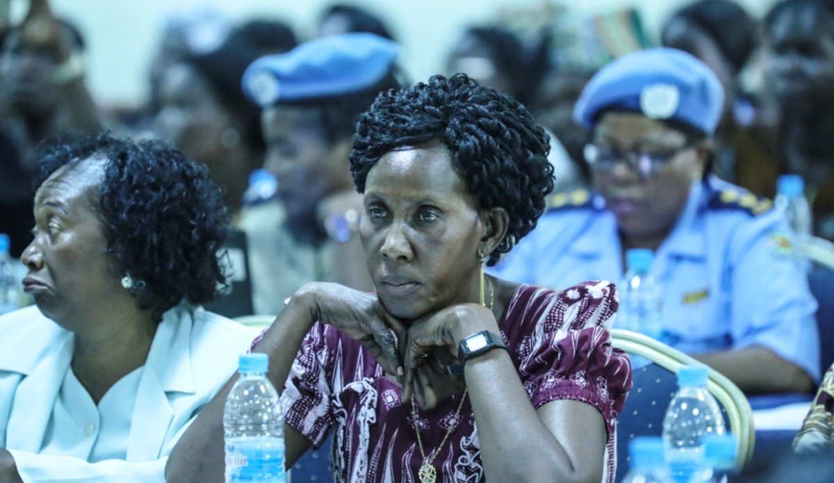 Women leaders from across the country at the South Sudan Open Days Dialogue on Women, Peace and Security