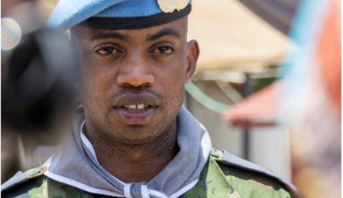 Lieutenant Desire Mukunzi