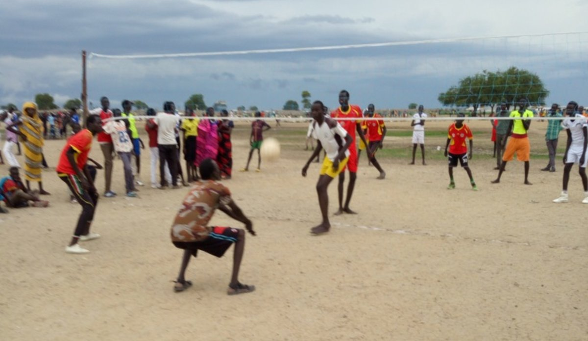 unmiss south sudan bentiu peacekeeping sports peace unity harmony reconciliation volleyball interaction
