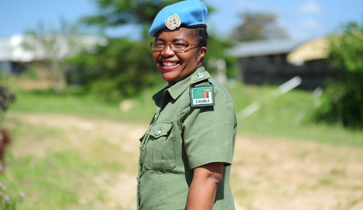 United Nations UNPOL United Nations Woman Police Officer of the Year UNMISS Gender Equality Gender Parity peacekeepers peacekeeping Women, Peace and Security
