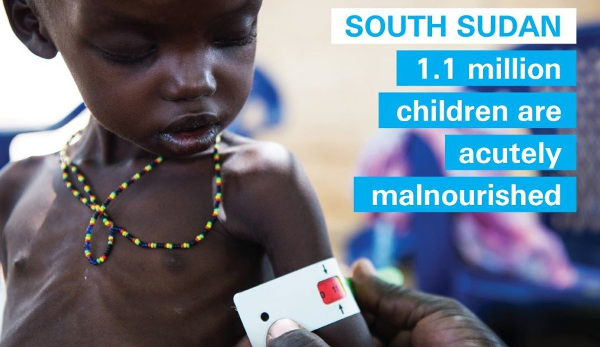 Famine declared in parts of South Sudan UNICEF FAO WFP