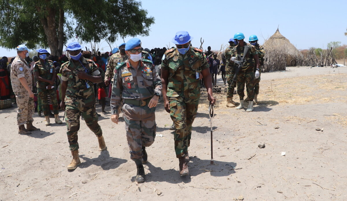 unmiss south sudan temporary operating base koch county unity state protection of civilians deterring violence positive impact