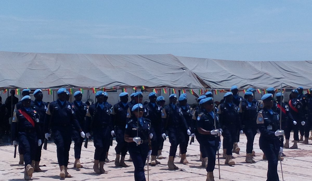 Ghanaian Formed Police Unit in Bentiu
