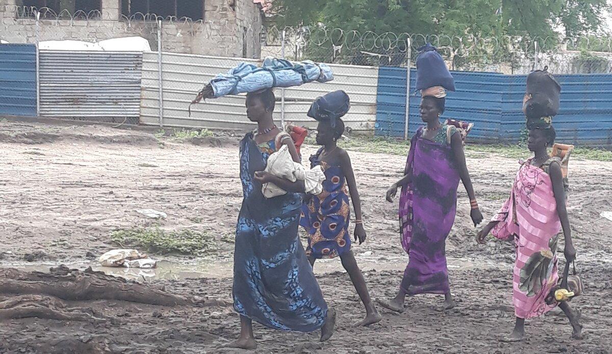 UNMISS protection of civilians displaced civilians peacekeepers South Sudan peacekeeping Greater Pibor Administrative Area Jonglei Dinka Murle Nuer intercommunal conflict women children rape