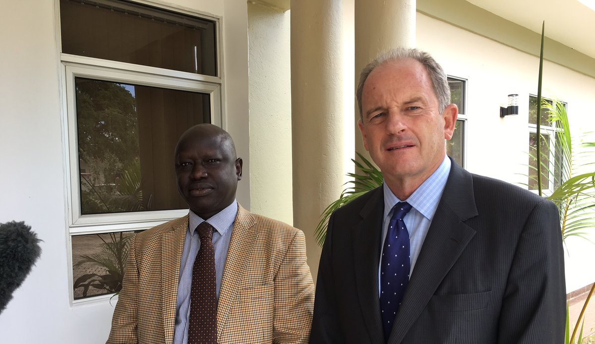 """UNMISS Head hails """"productive meeting"""" with South Sudanese President ahead of UN General Assembly in New York"""