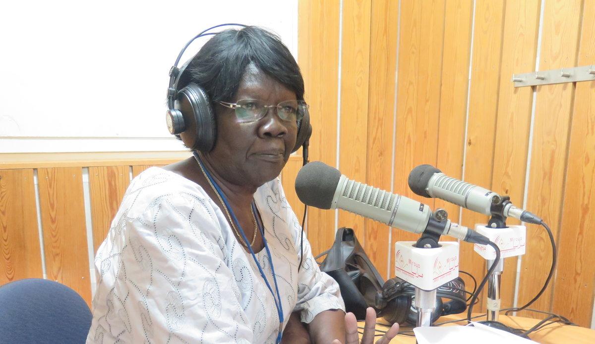 Dr. Priscilla Joseph of the South Sudan Women Network for Peace