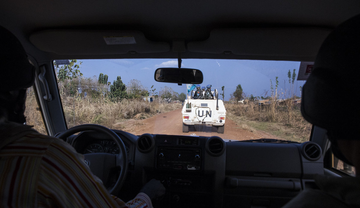 UNMISS embarks on 5-day patrol to conflict-affected areas near Pajok (including Spokesperson audio interview)